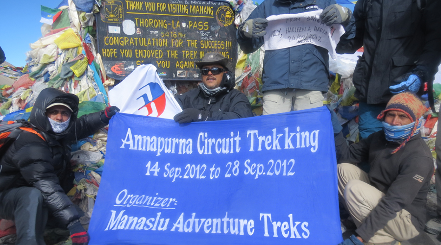 Thorong Pass with Ghorepani 17 days